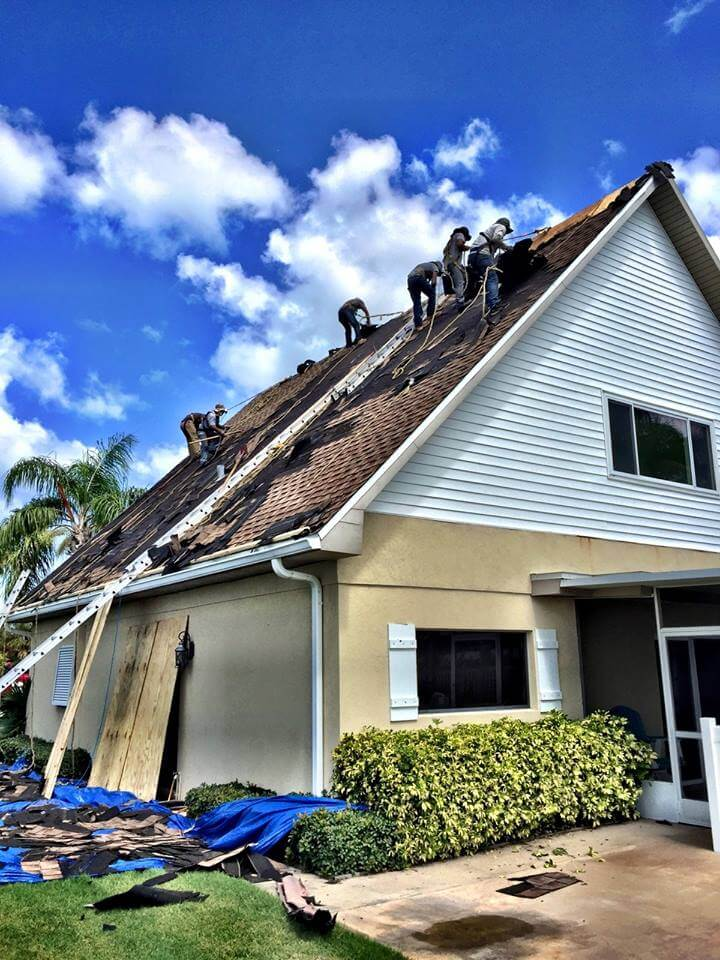 Living With A Roof Replacement Job